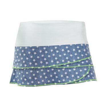 Lucky in Love Girls Star Struck Scallop Skirt - Multi