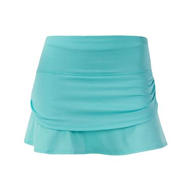 Lucky in Love Shoreline Girls Ruched Tier Skirt - Lagoon