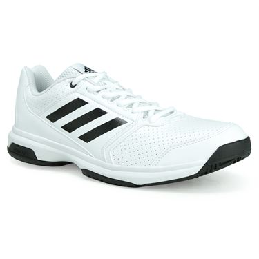 adidas adiZero attack Mens Tennis Shoe - White/Black