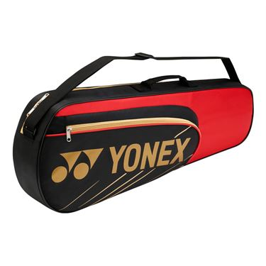 Yonex Team Series 3 Pack Tennis Bag - Black/Red