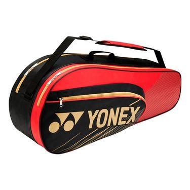 Yonex Team Series 6 Pack Tennis Bag - Black/Red