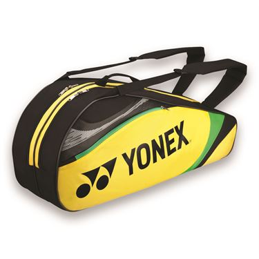 Yonex Tournament Basic Yellow 6 Pack Tennis Bag