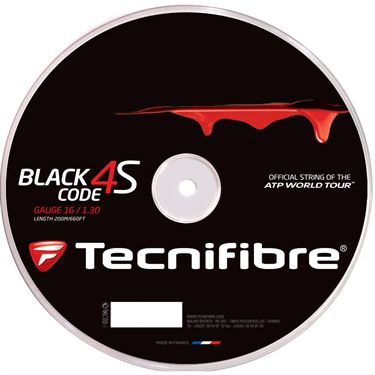 Tecnifibre Black Code 4S 16G (660 FT.) REEL