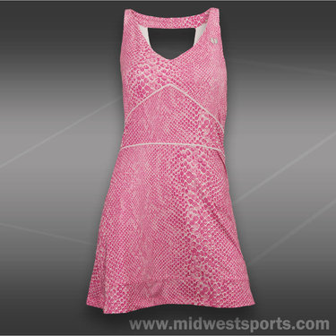 Eleven Cincy Dress - Pink Python