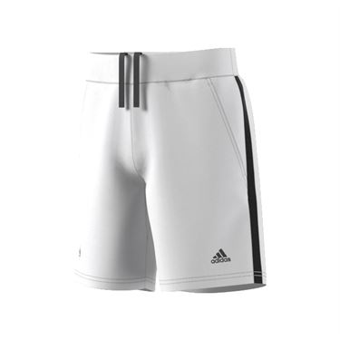 adidas Boys Roland Garros Shorts - White/Black