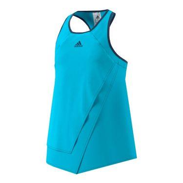 adidas Girls Melbourne Line Tank - Blue