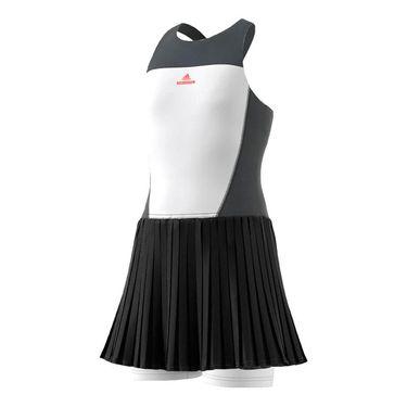 adidas Girls Stella McCartney Dress - White/Grey