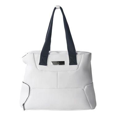adidas Stella McCartney Tennis Bag - White/Gunmetal