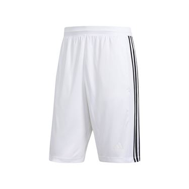 adidas D2M 3-Stripes Short - White/Black