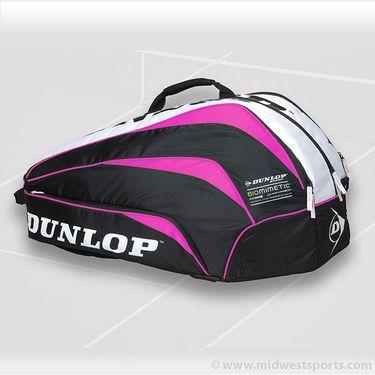 Dunlop Biomimetic Pink 10 Pack Tennis Bag