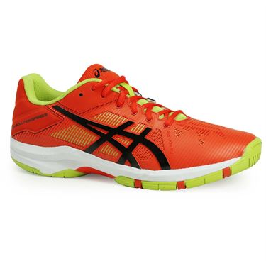 Asics Gel Solution Speed 3 Junior Tennis Shoe - Orange/Black
