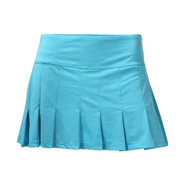 Eleven Geo Swirl 13 Inch Flutter Skirt - Blue Atoll