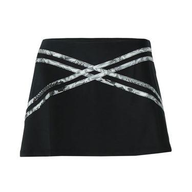 Eleven Casablanca Inspire 13 Inch Skirt - Black/Print
