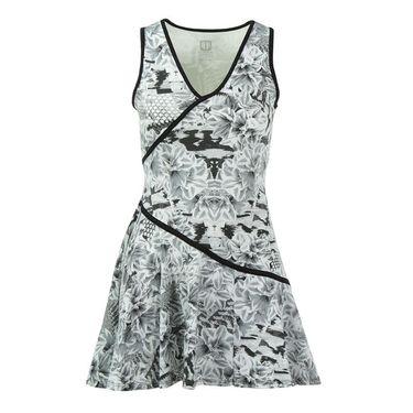 Eleven Casablanca Love Letter Printed Dress