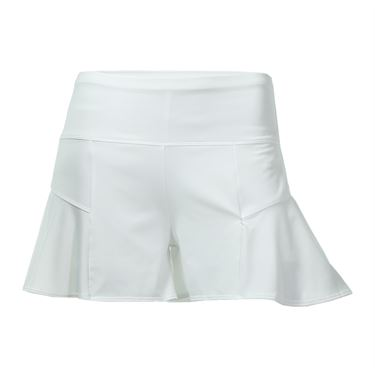 Lucky in Love Core Ellison Sisters Flounce Short - White