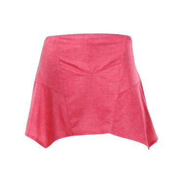 Lucky in Love Summer Lovin Handkerchief Skirt - Hibiscus