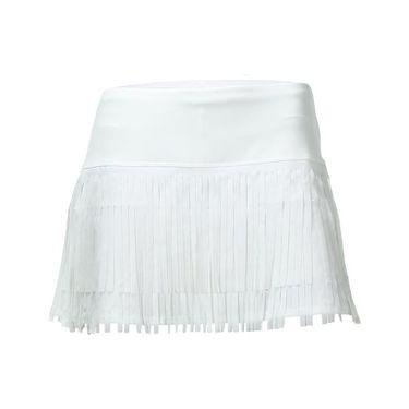 Lucky in Love Core Fringe Skirt - White