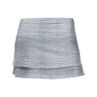 Lucky in Love Birque Skirt - Silver Croc
