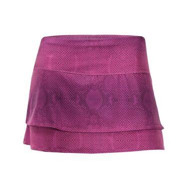 Lucky in Love Birque 12 Inch Skirt - Rose Python