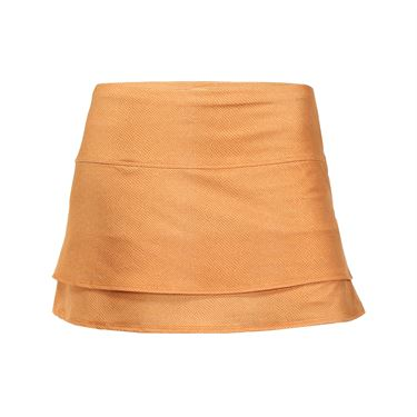 Lucky in Love Birque Skirt - Capucine Leather
