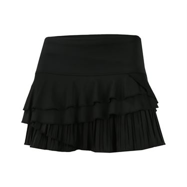 Lucky in Love Outside the Lines Rally Pleat Skirt - Black