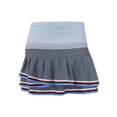 Lucky in Love Vantage Long Courtship Pleat Tier Skirt - Midnight