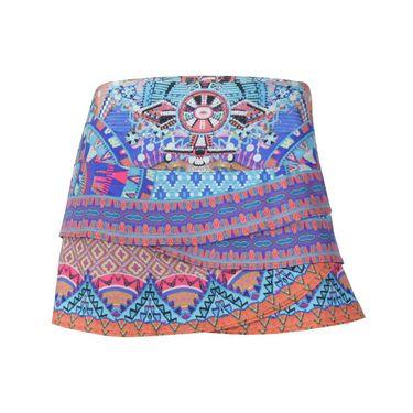 Lucky In Love Rio Scallop Skirt - Multi