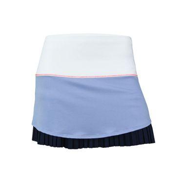 Lucky in Love Vantage Long Drop Pleat Skirt - Ice