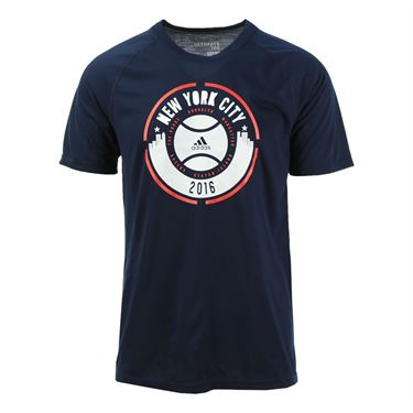 adidas Create Your Stage US Open Tee - Navy