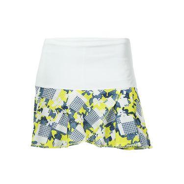 Lucky in Love Long Denim Days Petal Skirt - Chambray
