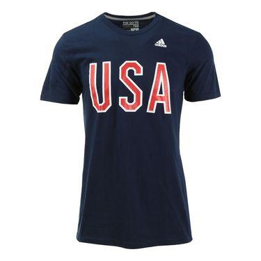 adidas USA Block Tee
