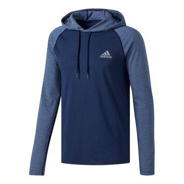 adidas Ultimate Hooded Tee - Collegiate Navy