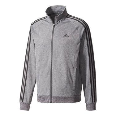 adidas Essentials 3S Tricot Track Jacket - Grey/Black