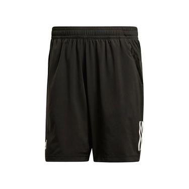 adidas Club 3 Stripes Short - Black