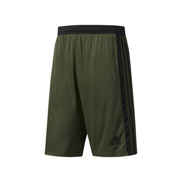 adidas D2M 3-Stripes Short - Night Cargo/Black
