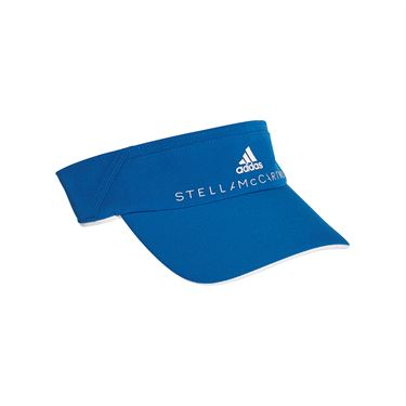 adidas Stella McCartney Cotton Visor - Blue/White