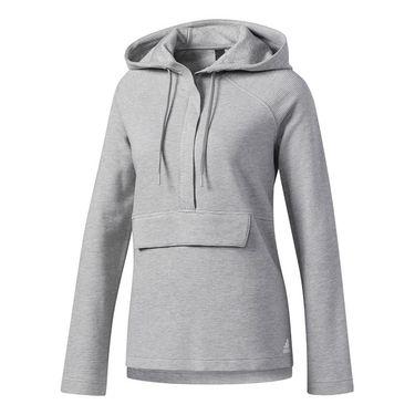 adidas Fleece Hoodie - Grey Heather