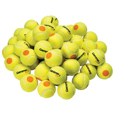 Gamma 60 Orange Dot Tennis Ball 60 Ball Bag
