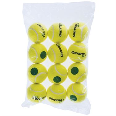 Gamma 78 Green Dot Tennis Balls 12 Pack