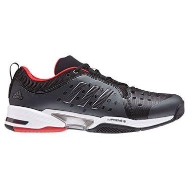 adidas Barricade Classic WIDE 4E Mens Tennis Shoe - Core Black/Night Metal/White