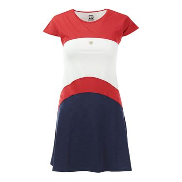 Eleven Olympic Dress - Red/White/Blue
