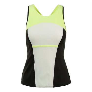 Lucky in Love Into the Woods High Neck Cami - Lemon Frost