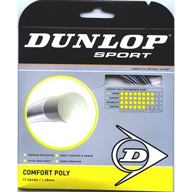 Dunlop Comfort Poly 17 Tennis String