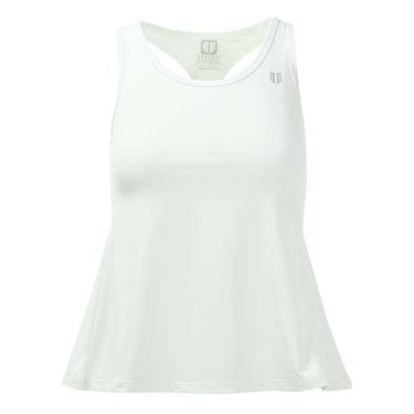 Eleven Race Day Tank - White
