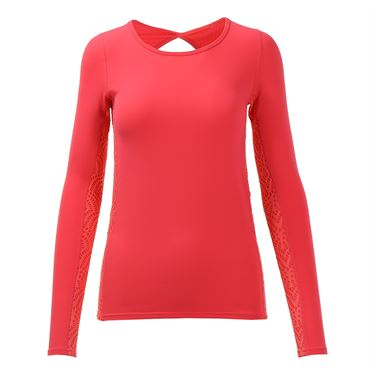 Tonic Drift Long Sleeve Top - Geranium