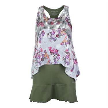 Denise Cronwall Army of Lovers Tennis Dress - Green