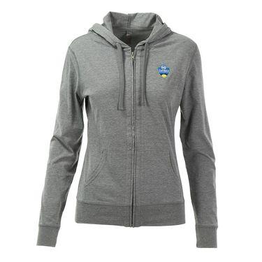 W&S Open Full Zip Cotton Jacket - Dark Heather Grey