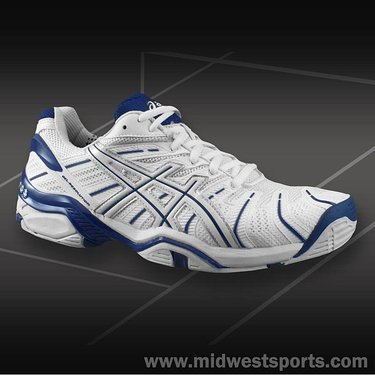 Asics Gel Resolution 4 Mens Tennis Shoes E201N-0150