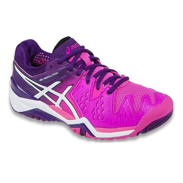Asics Resolution 6 Womens Tennis Shoe