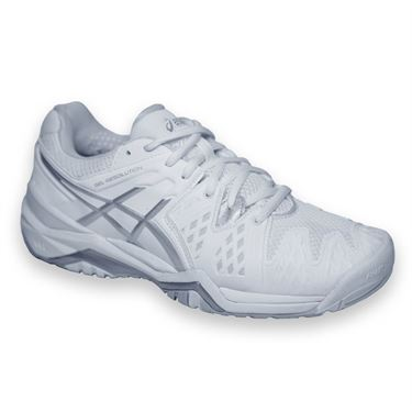 asics tennis shoes wide